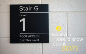 blog stair signs